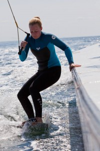 mel wakeboarden